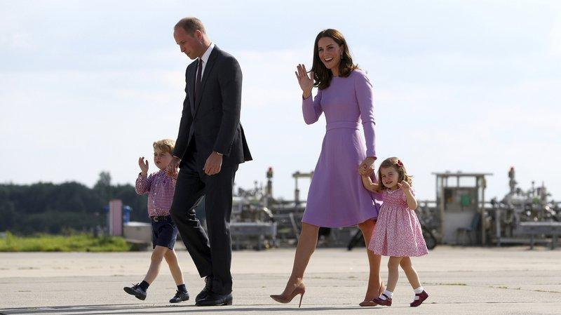Royaume-Uni: Kate et le Prince William attendent un troisième enfant