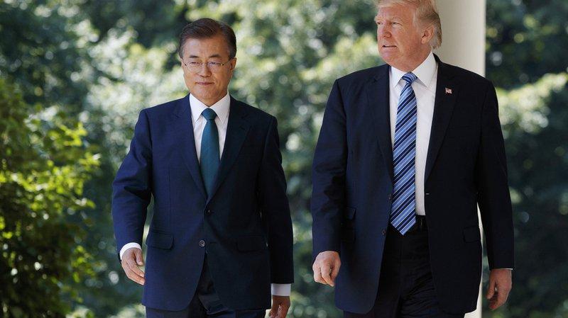 Tensions: Washington et Séoul veulent renforcer la défense sud-coréenne