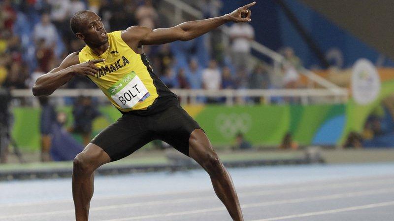 Athlétisme: les chiffres montrent qu'Usain Bolt va devenir - à nouveau - champion du monde du 100 m à Londres