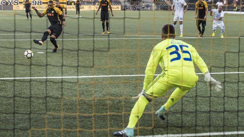Football: Young Boys bat le Dynamo Kiev 2-0 et se qualifie pour les barrages de la Ligue des Champions