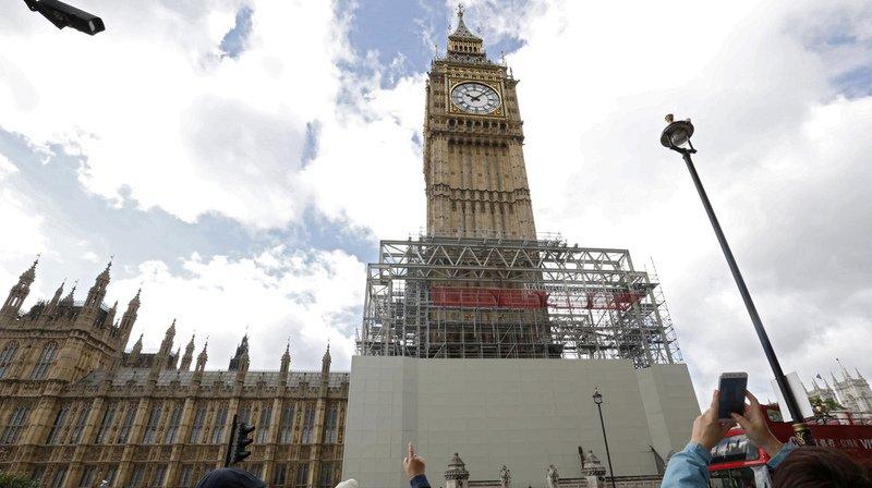 Big Ben ne sonnera pas pendant quatre ans pour cause de travaux
