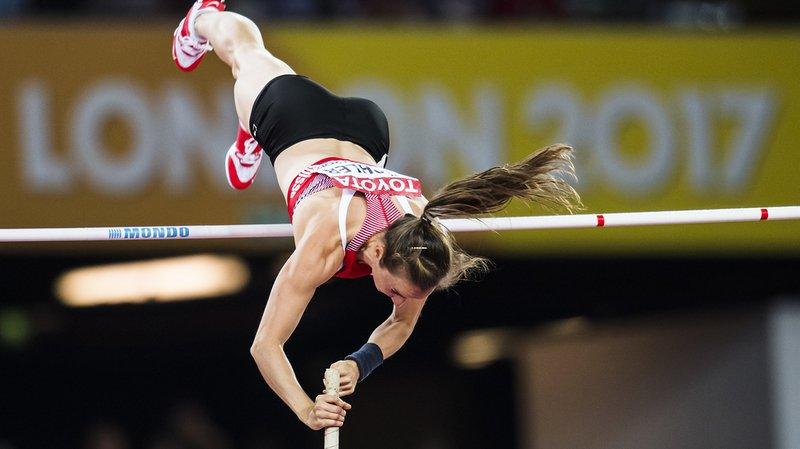 Nicole Büchler a assuré sa qualification avec un saut à 4 m 55.