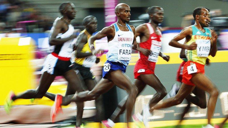 Mondiaux d'athlétisme de Londres: le Britannique Mo Farah remporte le 10'000 m à domicile