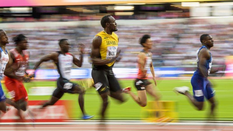 Mondiaux d'athlétisme de Londres: Bolt battu sur le dernier 100m de sa carrière