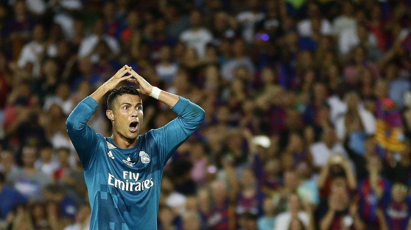 Football: ultime recours rejeté pour Ronaldo, cinq matchs de suspension confirmés