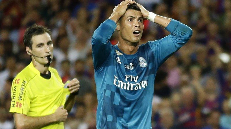 Football: la Fédération espagnole a rejeté l'appel de Cristiano Ronaldo