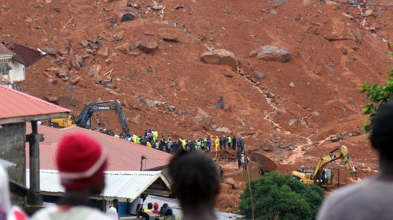 Inondations en Sierra Leone: plus de 400 personnes ont trouvé la mort et 600 sont portées disparues