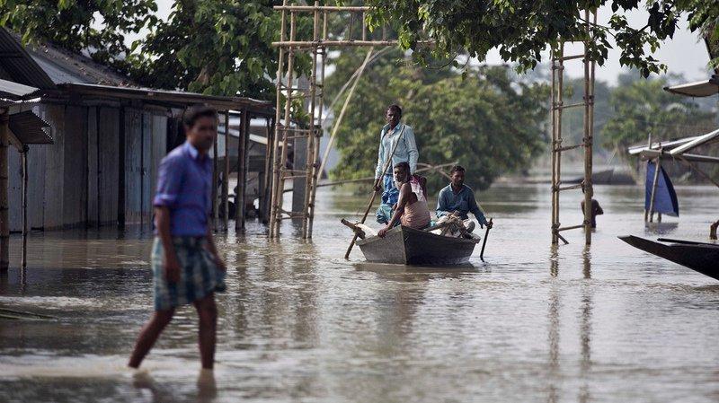 La Croix-Rouge a qualifié de crise humanitaire ces inondations. Elle a jugé nécessaire une action urgente.