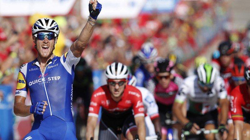 Tour d'Espagne: Matteo Trentin gagne la 10e étape de la Vuelta