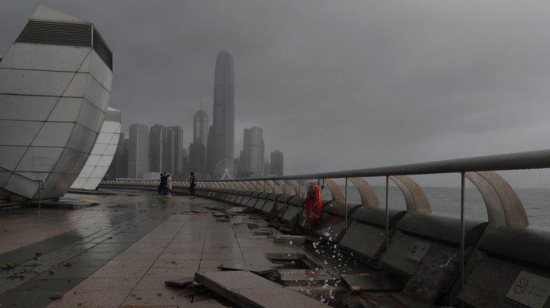 Asie: le typhon Hato fait 16 morts à Hong Kong et au sud de la Chine