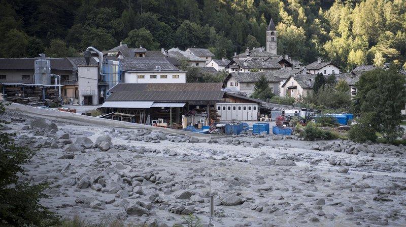 Éboulement à Bondo (GR): 6 personnes retrouvées, encore 8 personnes disparues