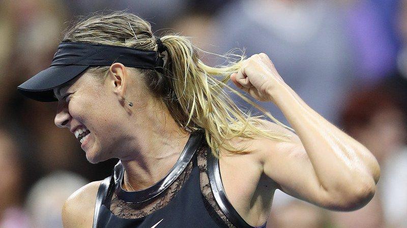 US Open: Maria Sharapova s'impose devant Timea Babos, Alexander Zverev sorti par Borna Coric