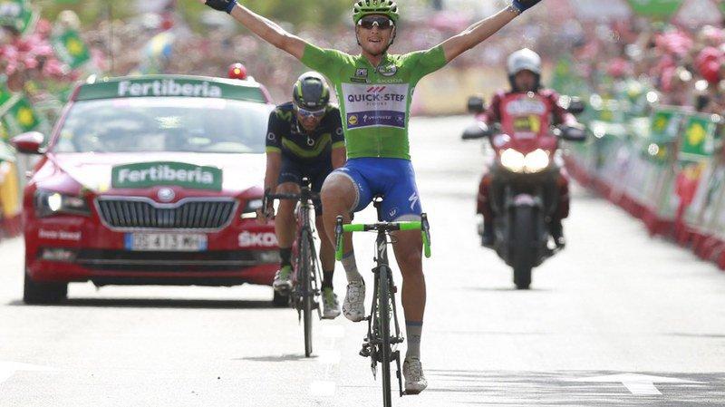 Tour d'Espagne: troisième victoire de Trentin, Froome toujours en rouge