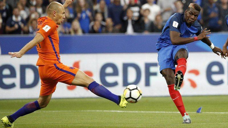Qualifications Mondial 2018: la France bat les Pays-Bas et reprend la tête du groupe A