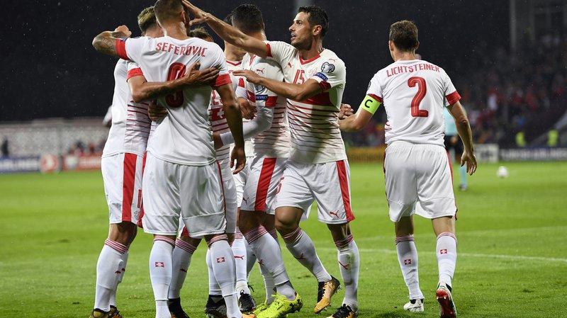 Qualifications pour la Coupe du monde 2018: la Suisse conserve la tête du groupe B en battant la Lettonie
