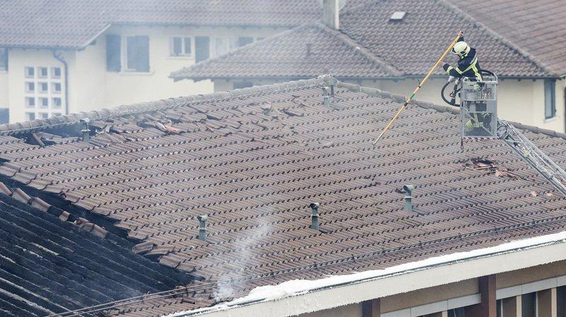 Vaud: un gros incendie ravage le collège des Crosets à Vevey, pas de blessé