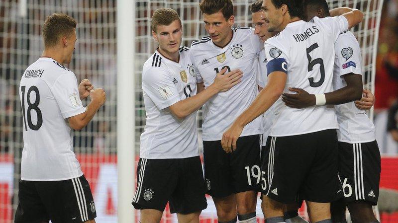 Mondial 2018: l'Allemagne et l'Angleterre confortent leur place en tête de leur groupe de qualifications