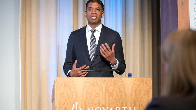 Nouveau patron de Novartis, Vasant Narasimhan est médecin et biologiste de formation.