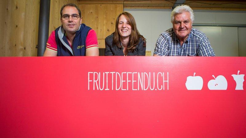 Des fruits et des produits transformés en vente directe à Founex