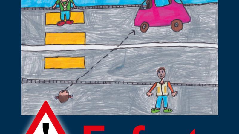 Un des dessins retenus pour la campagne d'affichage.