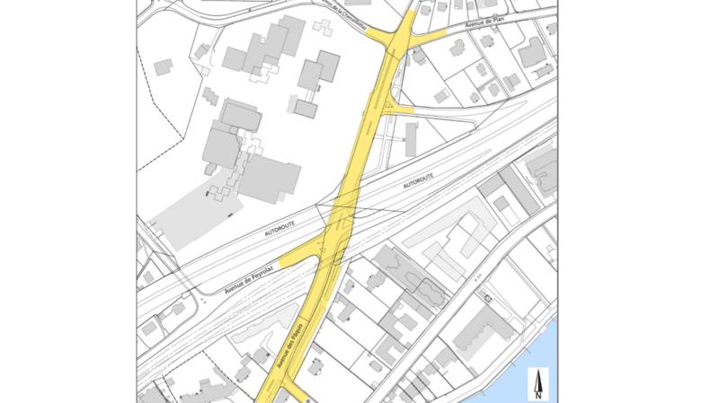 L'avenue des Pâquis à Morges sera en travaux jusqu'en novembre