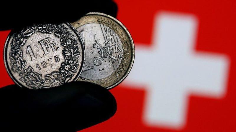 L'euro franchit le cap de 1,16 franc, une première depuis l'abandon du taux plancher