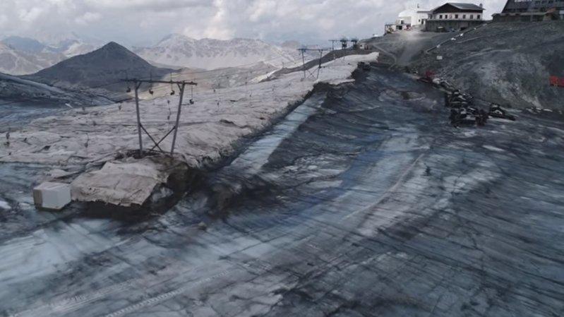 Italie: le ski d'été interdit sur le glacier Stelvio, près de Bormio, à cause de la canicule