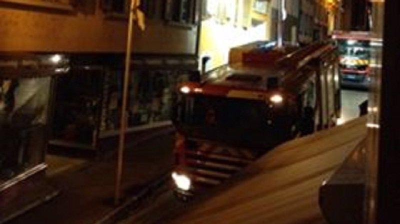 Nyon: Les pompiers sont intervenus à Rive vendredi soir