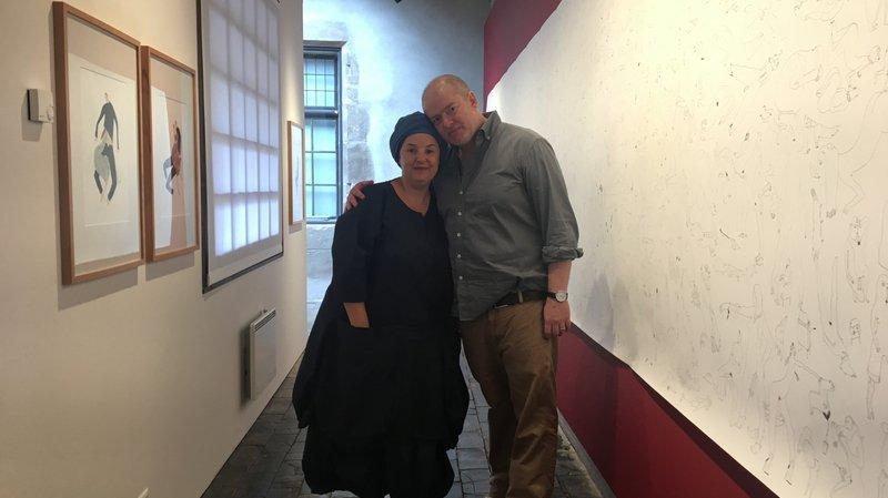 Un couple exposé au Musée Forel