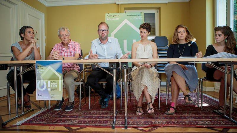 Nyon: La campagne sur le foyer de l'Evam est lancée