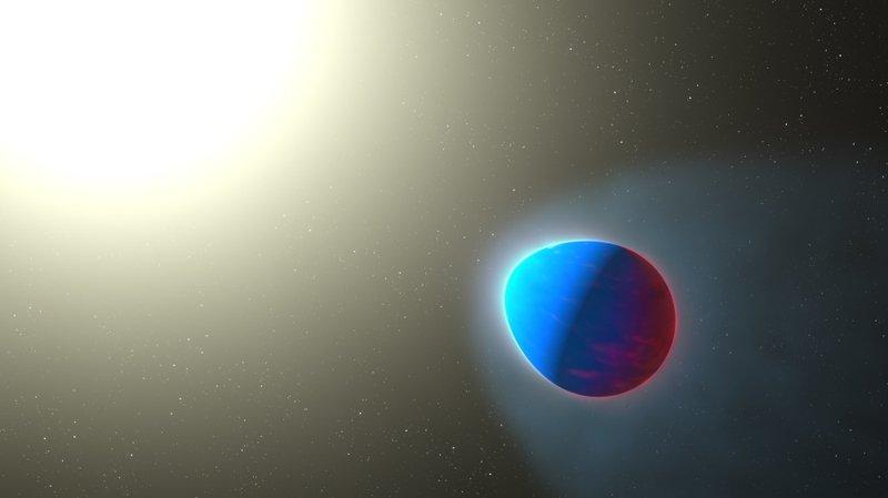 Des chercheurs ont découvert pour la première fois la présence d'une stratosphère autour d'une exoplanète