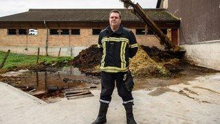 Pompiers formés pour lutter contre les incendies de fermes