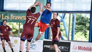 Les handballeurs nyonnais s'inclinent pour leur retour en première ligue