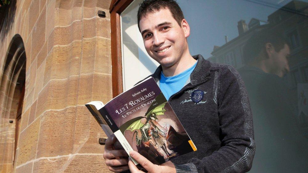 Sylvain Aeby est déjà en train de plancher sur les deux autres tomes qui compléteront sa trilogie.