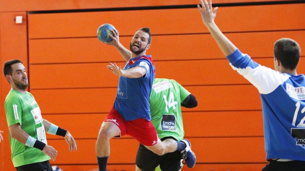 Mike Recchia et les Nyonnais ont remporté le derby contre la West, dimanche.