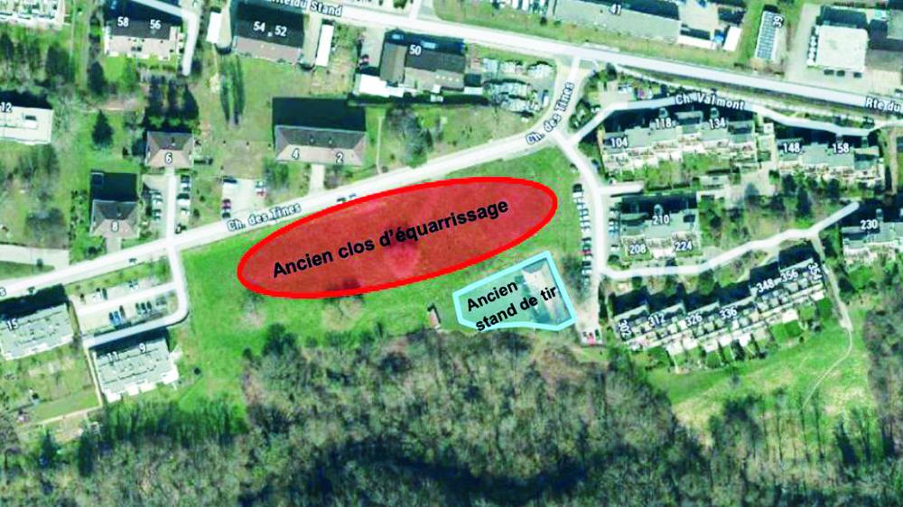 Une fois dépolluée, la parcelle pourra abriter 130 logements construits par une coopérative d'habitation.