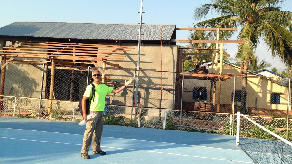 Jean Paul Ordan s'est déjà rendu à plusieurs reprises au Cambodge.