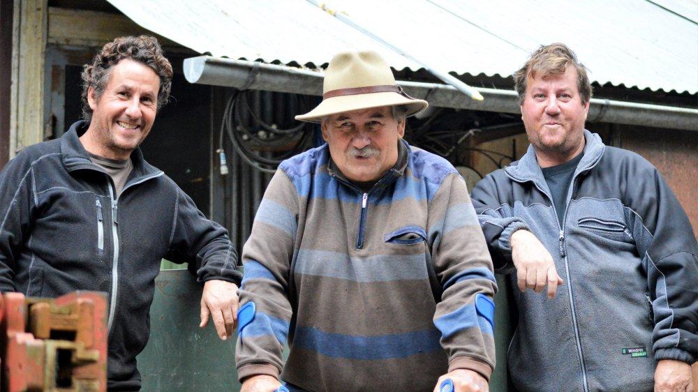 Franck, Aloïs et Christophe Bandel soudés face à l'adversité.