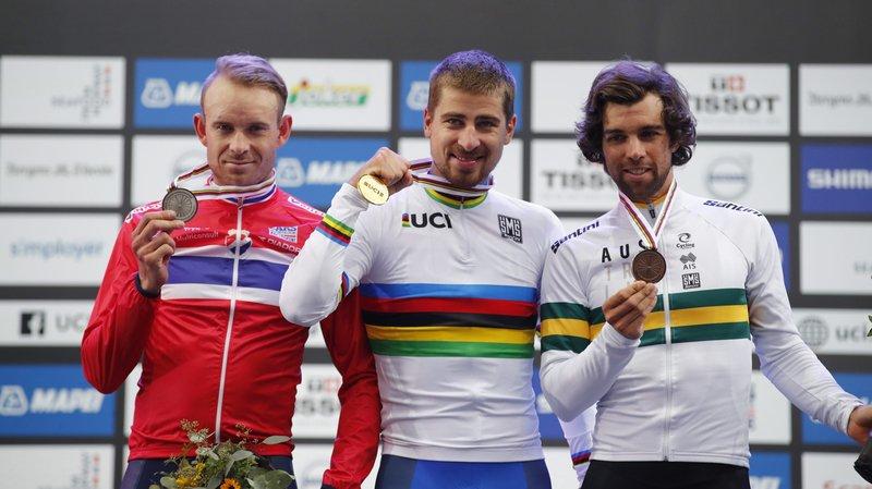 Cyclisme: le Slovaque Peter Sagan champion du monde pour la 3e fois consécutive, Albasini 7e