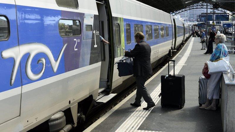 Loi Travail: grève à la SNCF, pas d'incidence pour la Suisse