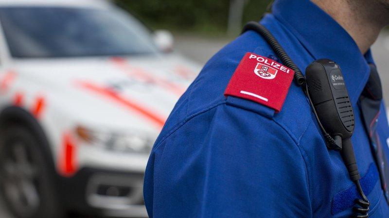 L'enquête de la police obwaldienne devra déterminer pourquoi le convoi a quitté la route (illustration).