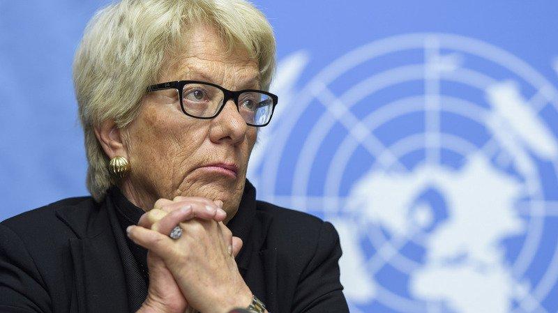Syrie: la Suisse salue l'engagement de Carla Del Ponte
