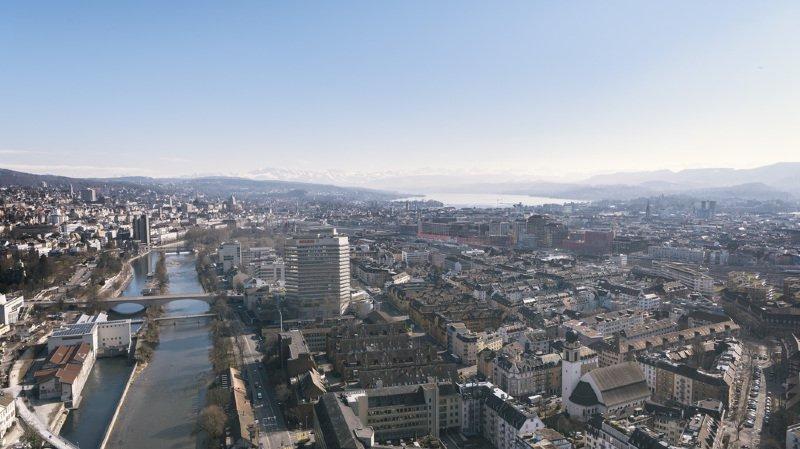 Tourisme: Zurich est la destination suisse la plus prisée selon un classement mondial