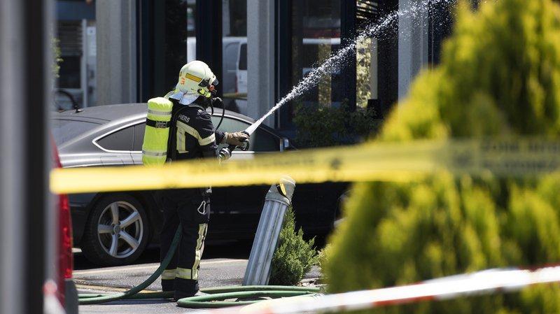 ZH: un incendie fait neuf blessés et un million de francs de dégâts à Regensdorf