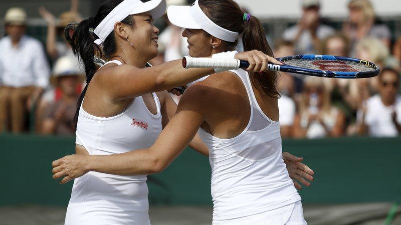 Us Open: Martina Hingis en finale du double