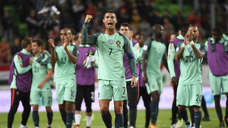 Qualifications Mondial 2018: toutes les stars du Portugal affronteront la Nati