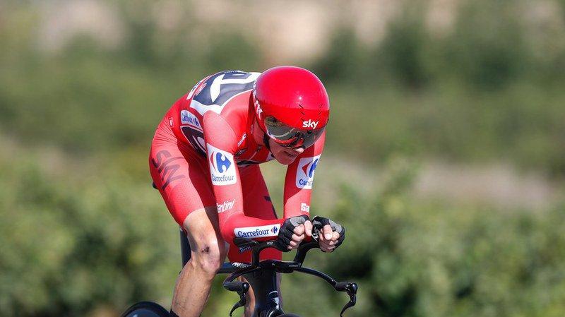 Tour d'Espagne: Chris Froome perd du terrain à la 17e étape de la Vuelta