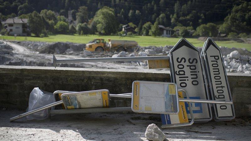 Éboulement aux Grisons: le Val Bregaglia rouvert à la circulation de jour