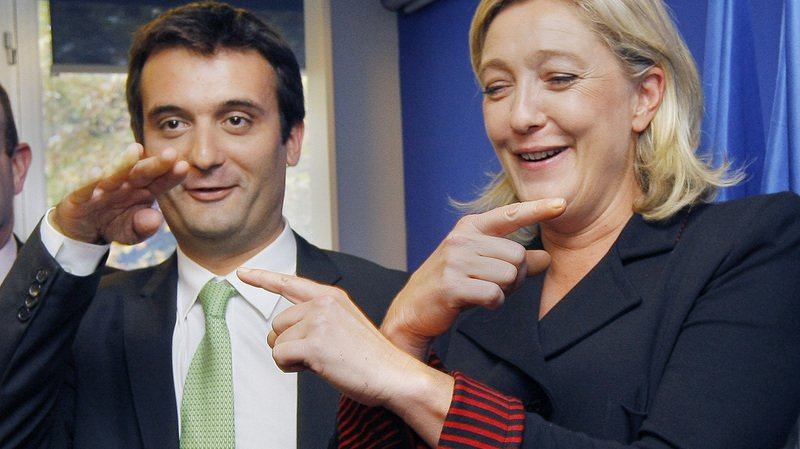 France: Florian Philippot, vice-président du Front National, annonce sa démission