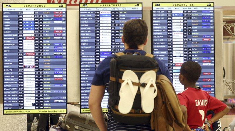 Ouragan Irma: vers un retour à la normale dans les aéroports de Floride
